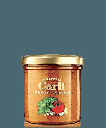 PRN - 4 Vasetti Pesto Rosso G 130